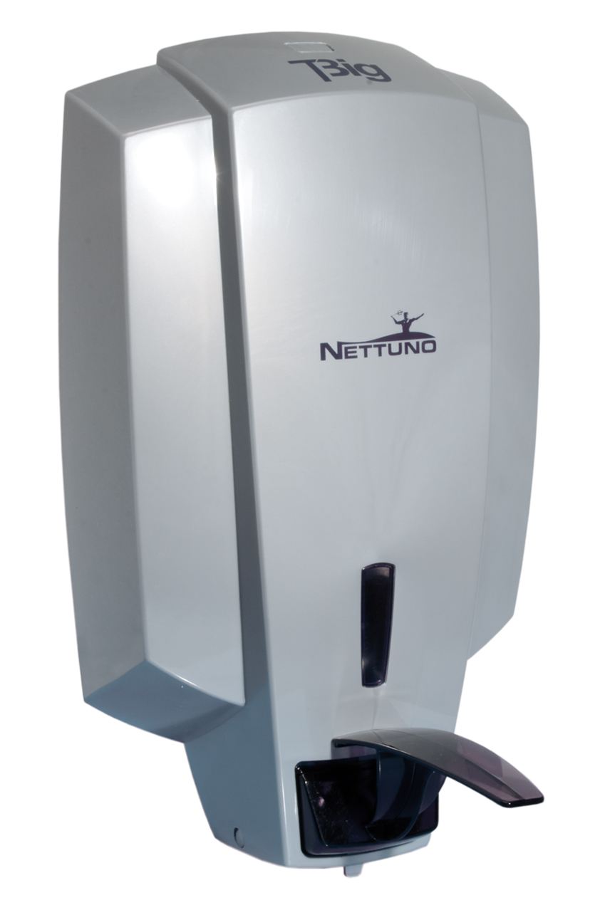 Dispensador nettuno t big para cargas de 3 l t bag cimetres for Dispensador de jabon de pared