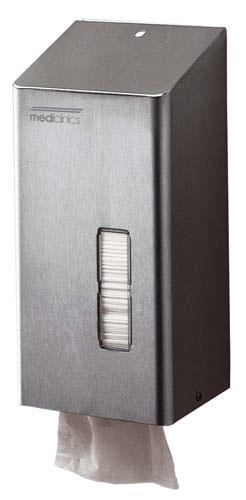 Dispensador toallitas inodoro inox aisi 304 satinado for Dispensador de papel higienico
