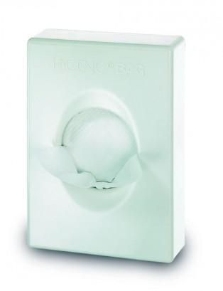 Dispensador de bolsitas de higiene femenina blanco cimetres - Dispensador bolsas plastico ...