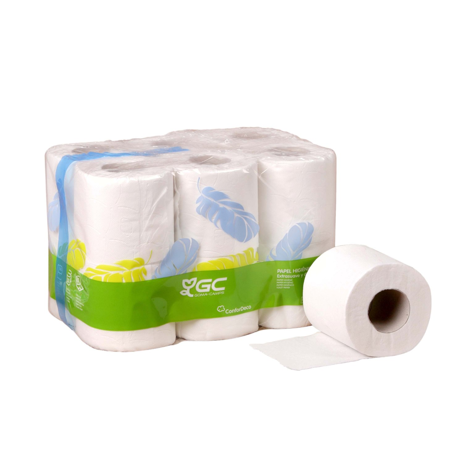 Papel higienico dom stico 108 rollos cimetres for Accesorios para bano papel higienico